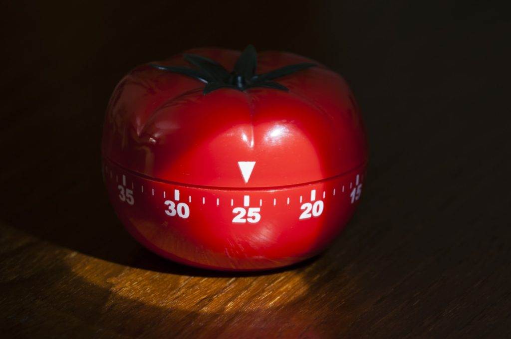 Kitchen timer for cooking and working
